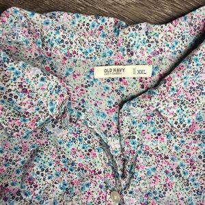 OLD NAVY - Button down shirt XXL